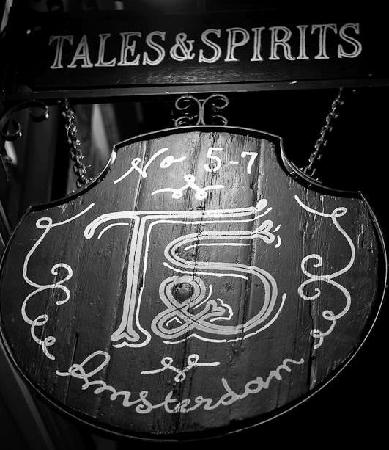 Photo of Bar Tales and Spirits at Lijnbaanssteeg 5-7, Amsterdam 1012 TE, Netherlands