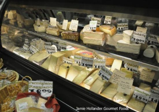 Jamie Hollander Gourmet Foods : local and world cheeses