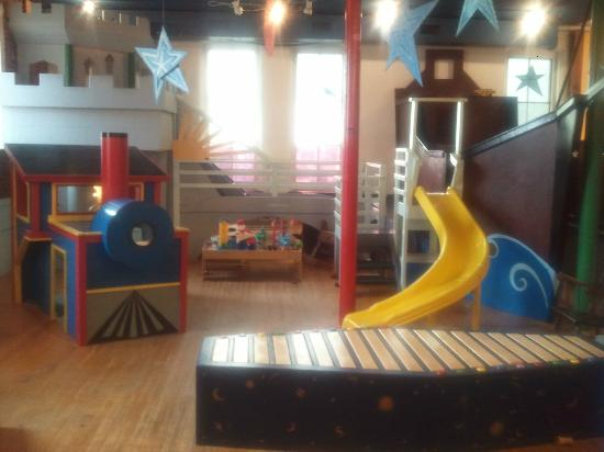 KidsPLAYce: Southern Vermont Children's Discovery Center: Boat, Castle, Bridge, Train, and Marimba Bench