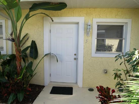 Sea Spray Resort on Siesta Key: Our Suite Door