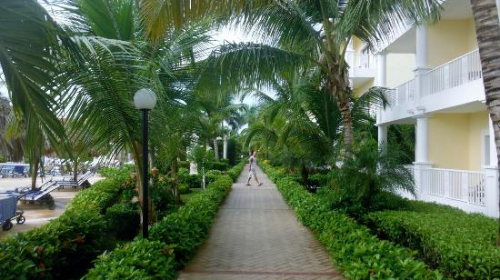 Luxury Bahia Principe Esmeralda: Morning walk