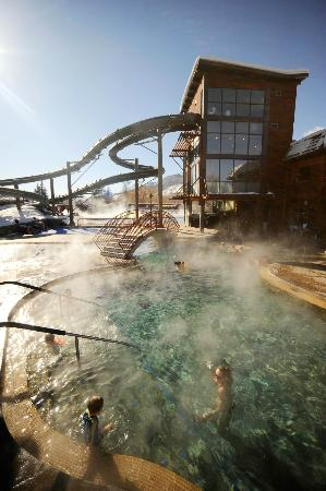 Old Town Hot Springs: The hot pools are open year-round. Photo courtesy Matt Stensland.