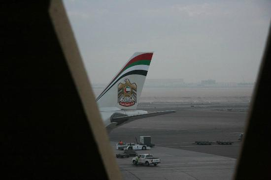 Abu Dhabi Airport Hotel: view