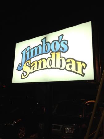 Jimbo's Sandbar: der Name sagt alles