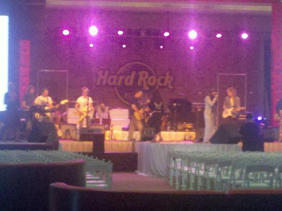 ‪‪Hard Rock Hotel Cancun‬: Concert Rehersal