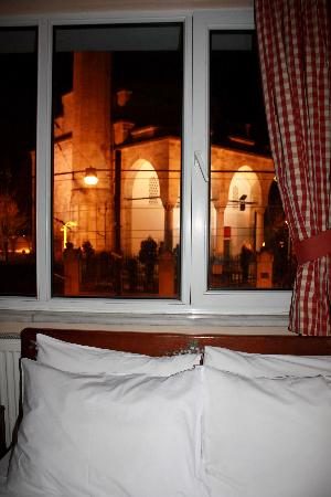 Hotel Sultanahmet: view from the window