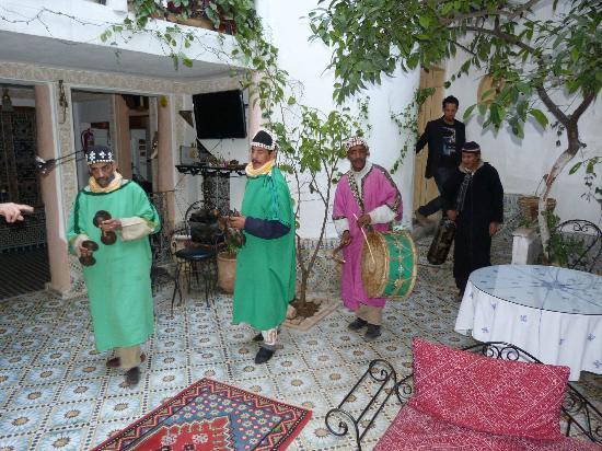 Riad lalla fatima : c'est aussi parfois la fête