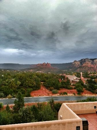 Best Western Plus Inn of Sedona: View from the terrace