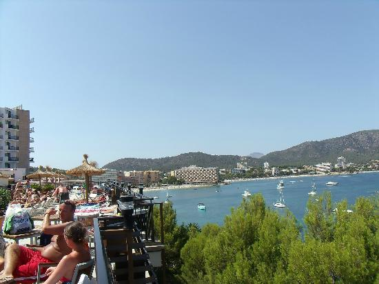 Alua Palmanova Bay: View looking over Palma Nova from terrace
