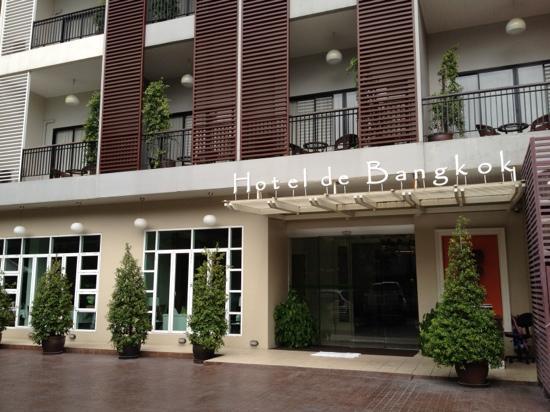 Hotel de Bangkok: отель