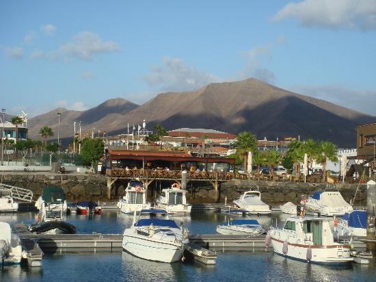 Hotel THe Volcan Lanzarote: Marina Rubicon