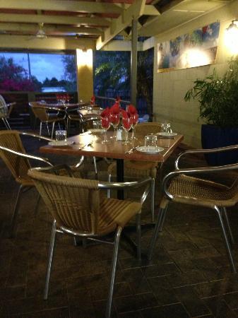 Whalers Restaurant: Restaurant outdoor