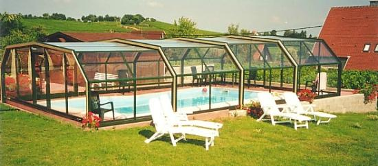 Le Gite de la Tulipe: piscine privée couverte