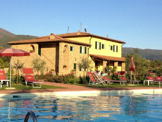 Agriturismo Savernano: The House from the Pool Area