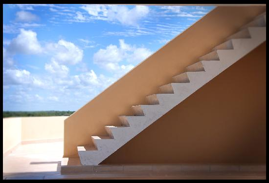 Deacra Villas, Sol Resorts: Staircase feature - Deacra Villas