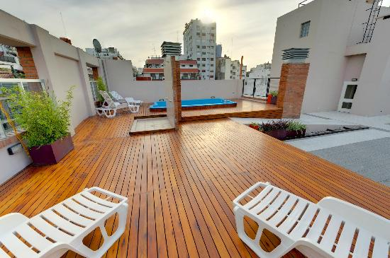 Senillosa House: Vista panorámica terraza