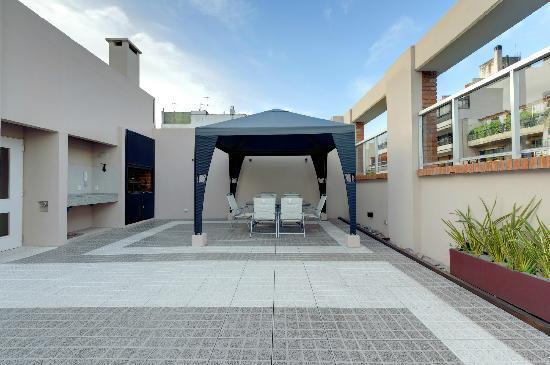 Senillosa House: Terraza edifcio