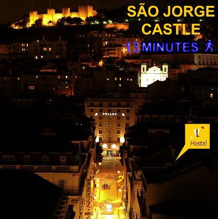 Vistas de Lisboa Hostel: Accommodation Lisboa Baixa Chiado Bairro Alto Praça da Figueira Rossio