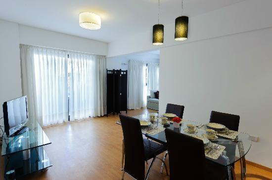 Senillosa House: Vista departamento