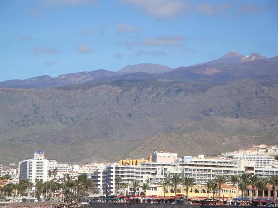 H10 Gran Tinerfe: View from across the bay