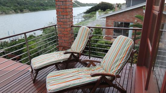 Dungbeetle River Lodge: Balkon