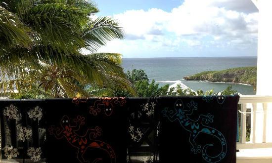 Hotel Amaudo: Sur la terrasse après la plage