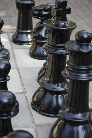 Sanbonani Resort: big chess men