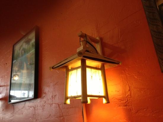 Ha Long Bay: table light