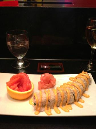 Marriott Kansas City Overland Park: Sushi