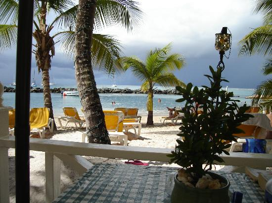 Coco Reef Tobago: Lunchtime view