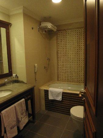 BEST WESTERN PREMIER Regency Suites & Spa: Bathroom