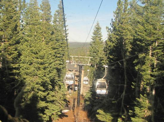 Big Horn Lodge - Tahoe Mountain Lodging : Gondola @ Northstar