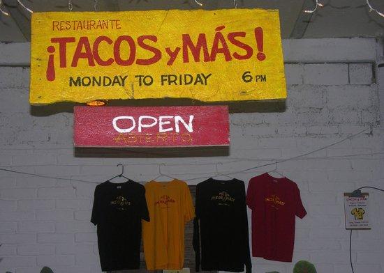 Tacos y Mas!: Mon. - Fri.  6-10pm