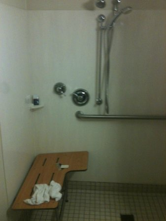 Red Roof Inn Charleston - Kanawha City: The 'shower'