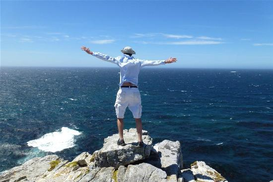 The Cape Town Tour Guide Co.: Clive flying