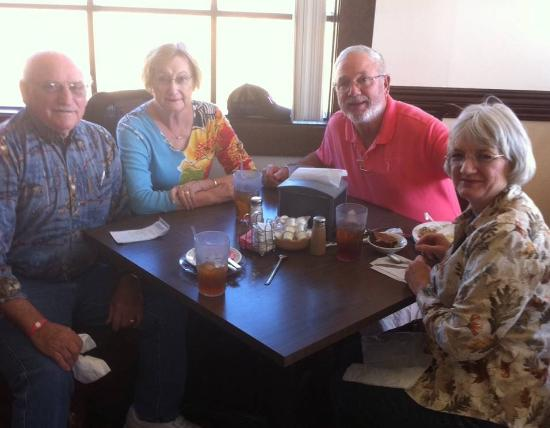 Carriage House Restaurant: Browns and Strohms following their meal