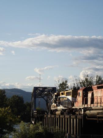Kamloops Heritage Railway - Steam Train: Kamloops.