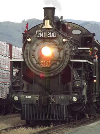 Kamloops Heritage Railway - Steam Train: Good value for money.