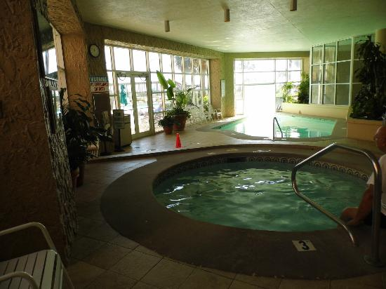 Perdido Beach Resort Indoor Pool Jacuzzi