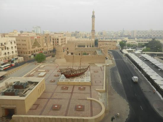 Arabian Courtyard Hotel & Spa: The View from Our Room