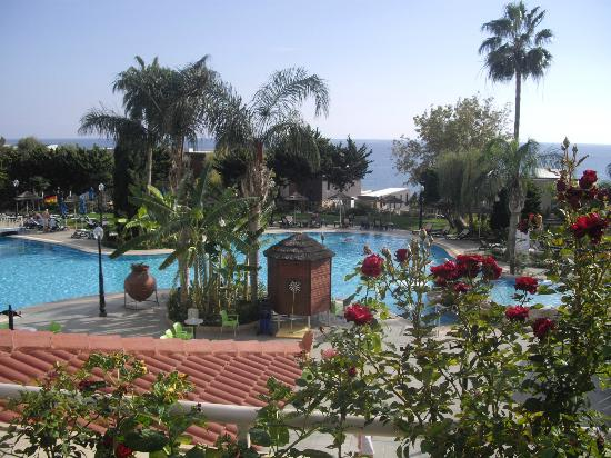 Atlantica Bay Hotel: View from our first floor room