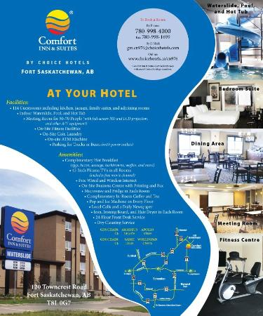 ‪كومفرت إن آند سويتس: Comfort Inn & Suites Fort Saskatchewan Information‬