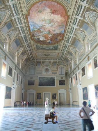 National Archaeological Museum of Naples: sala meridiana
