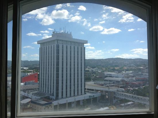 Real InterContinental San Salvador at Metrocentro Mall: Spectacular view