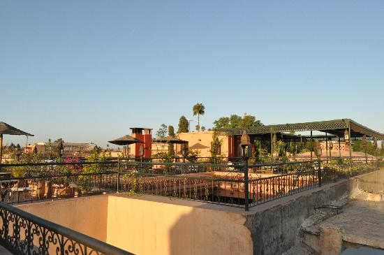 Hotel Cecil Marrakech: Hotel rood terrace