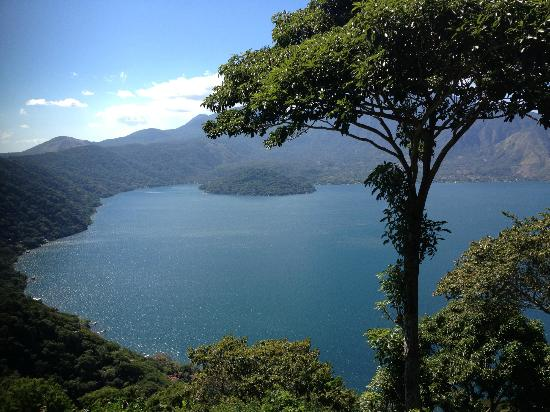 Coatepeque, El Salvador: Lake View