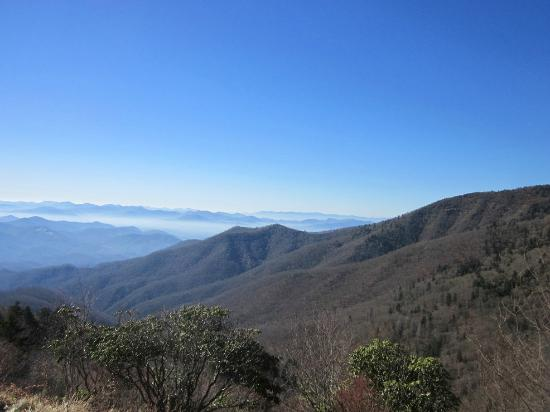 Maggie Valley, Βόρεια Καρολίνα: View from Waterrock Knob