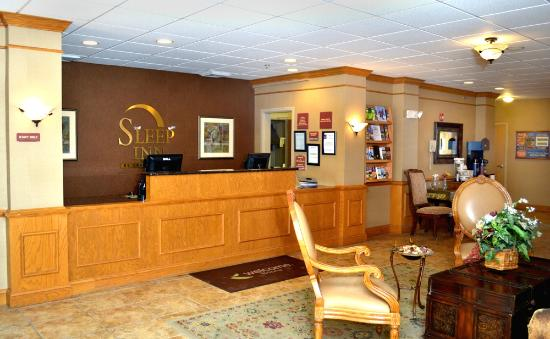Sleep Inn Boone: Reservation/Lobby