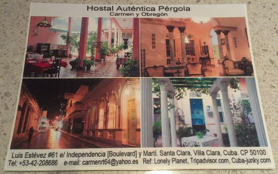 Hostal Autentica Pergola: card