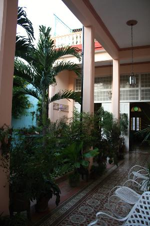 Hostal Autentica Pergola: courtyard